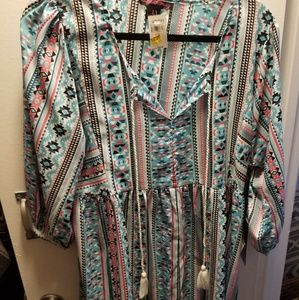 Rock and Roll Cowgirl Tunic